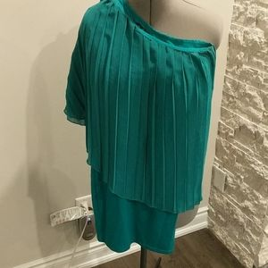 Guess Green one Shoulder dress